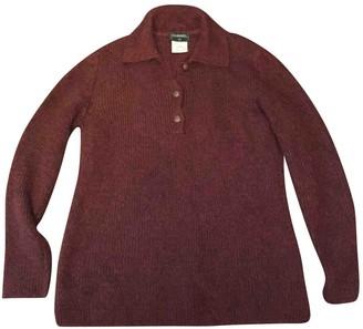 Chanel Orange Wool Knitwear for Women Vintage