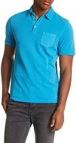 Heritage Garment Dyed Pique Slim Fit Polo