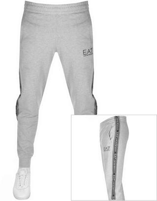EA7 Emporio Armani Tape Logo Jogging Bottoms Grey