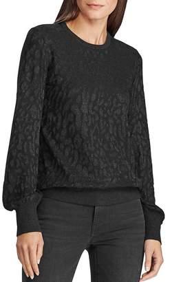 Ralph Lauren Metallic Jacquard Sweater