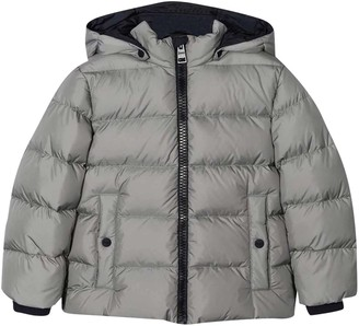 Herno Gray Down Jacket