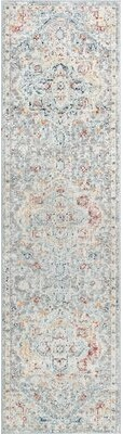 Bungalow Rose Habous Silver Rug Rug Size: Runner 2'3'' x 9'10''