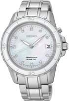 Seiko Ladies Silvertone Sportura Watch