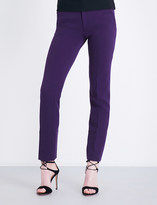 Roland Mouret Lacerta tapered stretch-crepe trousers