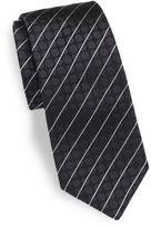 Dolce & Gabbana Textured & Striped Silk Tie