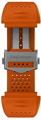 Tag Heuer Modular Connected Orange Rubber Watch Band