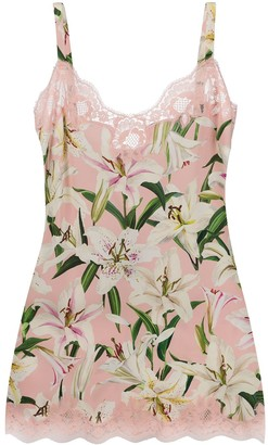 Dolce & Gabbana Floral Slip Dress