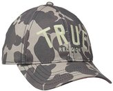 True Religion Men's Camo True Logo Cap