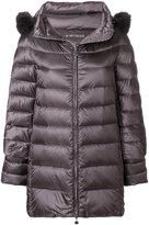 Hetregó padded fur trim coat