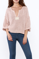 Free People Blush Pink Knitted Sweater