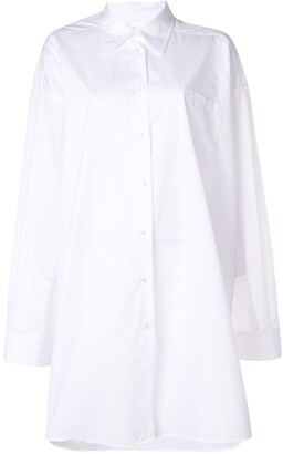 Maison Margiela oversized long sleeve shirt