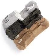 Sperry Men's Cotton Blend No-Show Liner Socks