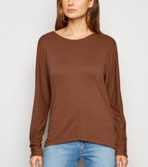 New Look JDY Cross Back Batwing Sleeve Top