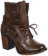 Pierre Dumas Ravenna Partial Lace-Up Boot