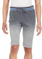Jet Lag Ombré Cotton Shorts