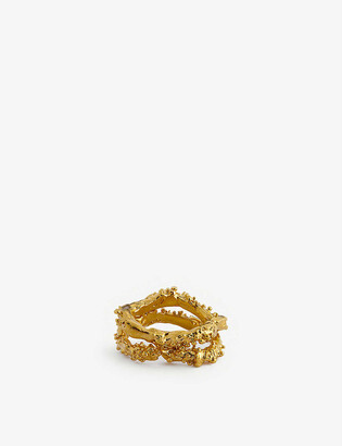 Bjorg Ring in Gold (Metallic) - Lyst