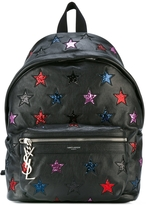 Saint Laurent Star Logo Backpack