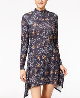 American Rag Printed Handkerchief-Hem Dress