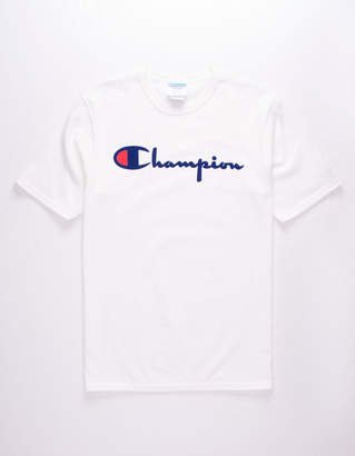 Champion Script Flock Mens T-Shirt