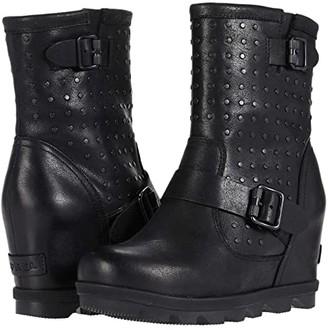 Sorel Joan of Arctictm Wedge II Boot Stud (Black) Women's Boots
