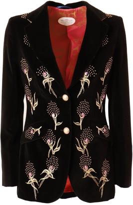 The Extreme Collection Black Velvet Blazer Huga Love