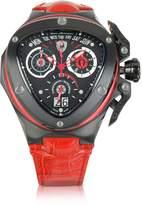 Lamborghini Tonino Spyder - Red Leather Chronograph Watch