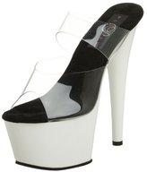 Pleaser USA Women's Adore-702UV Sandal