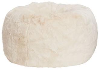 Pottery Barn Teen Ivory Polar Bear Faux Fur Bean Bag Chair