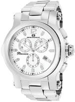 Oceanaut Mens Baccara XL Silver Bracelet Watch