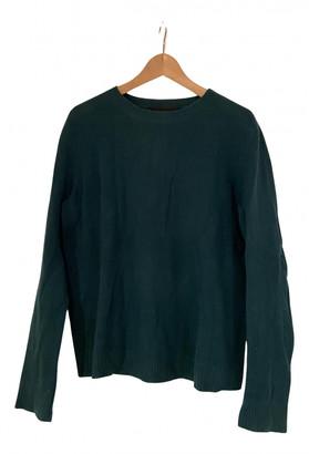 Reformation Green Cashmere Knitwear