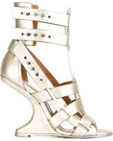 Rick Owens 'Cyclops Cantilevered' sandals - women - Leather - 37.5