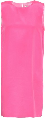 Emilio Pucci Silk Crepe De Chine Mini Dress