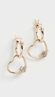 Kozakh Cor Diamond Earrings