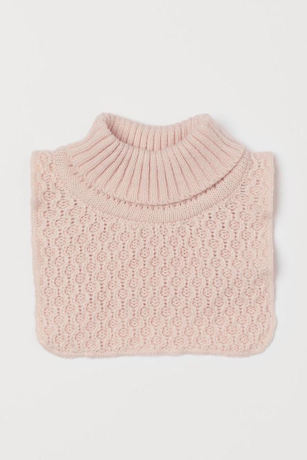 H&M Knit Turtleneck Collar - Orange
