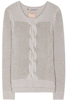 81 Hours 81hours Rita wool and cashmere-blend sweater