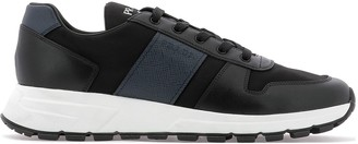 Prada Panelled Low Top Sneakers