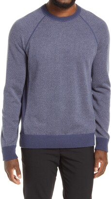 Vince Bird's Eye Stitch Wool & Cashmere Sweater