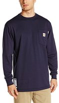 Carhartt Men's Flame Resistant Force Cotton Graphic Long Sleeve T-Shirt