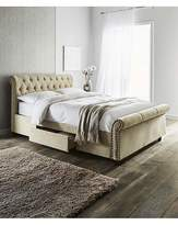 Fashion World Kingsley Double Bed 2 Storage Drawers