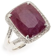 John Hardy Women's Classic Chain Gemstone Ring