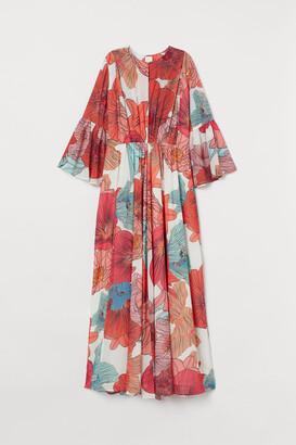 H&M Voluminous printed dress