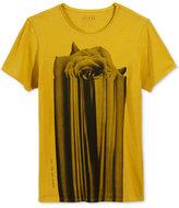 GUESS Men's Fleur Blur Graphic-Print T-Shirt