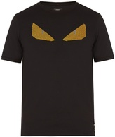 Fendi Bag Bugs-embellished cotton T-shirt