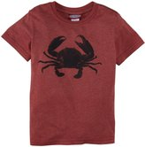City Threads Crab Heathered Graphic Tee (Toddler/Kid) - Red-2T