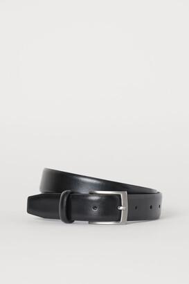 H&M Leather Belt - Black