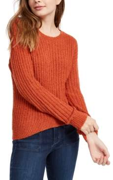 Almost Famous Crave Fame Juniors' Ribbed Cropped Sweater