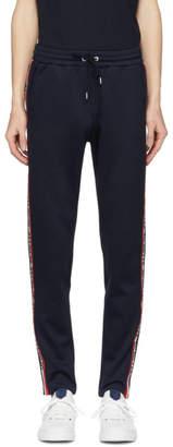 Moncler Blue Side Stripe Lounge Pants