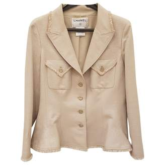 Chanel \N Beige Silk Jackets