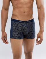 Tommy Hilfiger Geometric Print Trunks In Gold