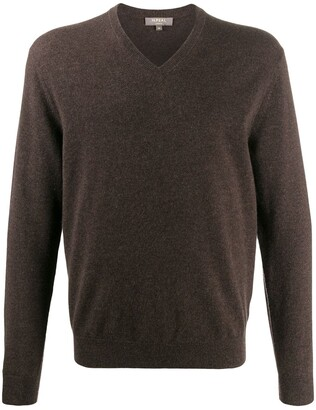 N.Peal The Burlington V-neck jumper